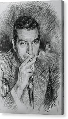 Lucky Luciano Canvas Print by Ylli Haruni