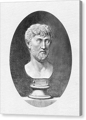 Lucretius (96 B.c.?-55 B.c.) Canvas Print