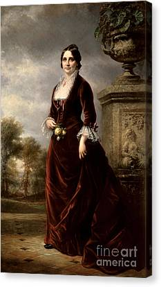 Lucy Hayes, First Lady Canvas Print