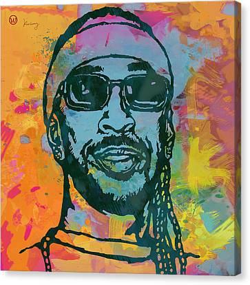 Ludacris Pop Stylised Art Poster Canvas Print