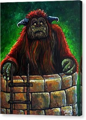 Ludo Labyrinth Canvas Print