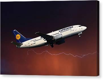 Lufthansa Canvas Print