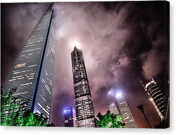 Lujiazui Canvas Print by Andy Brandl