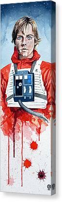 Luke Canvas Print by David Kraig