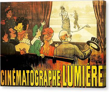 Lumiere Cinematographe Canvas Print by Georgia Fowler