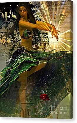Luminitsa  Canvas Print by Shadowlea Is