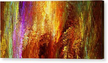 Luminous - Abstract Art Canvas Print by Jaison Cianelli