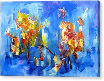 Luminous Celebration  Canvas Print