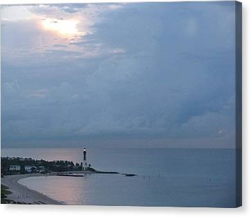 Luminous Lighthouse Canvas Print
