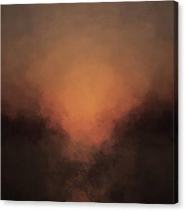 Luminous Descent Canvas Print by Lonnie Christopher