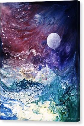 Luna Chrysalis Canvas Print by Lee Pantas