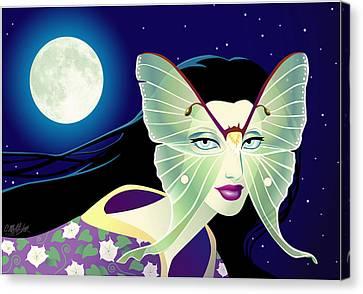 Luna Canvas Print by Cristina McAllister