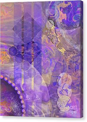 Lunar Impressions 2 Canvas Print by John Beck