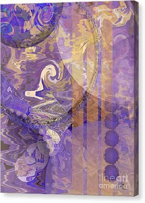Lunar Impressions Canvas Print by John Beck