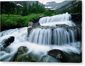 Lunch Creek Canvas Print by Panoramic Images