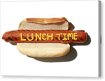 Lunch Time Canvas Print by Michael Ledray