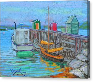 Lunenburg Waterfront  Canvas Print