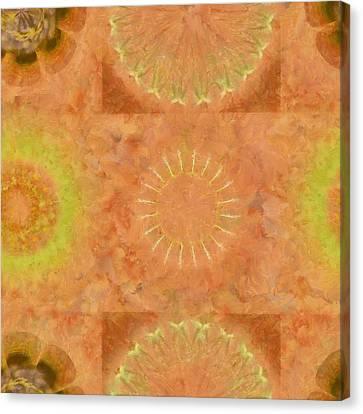Lunular Balance Flowers  Id 16165-051446-23480 Canvas Print by S Lurk