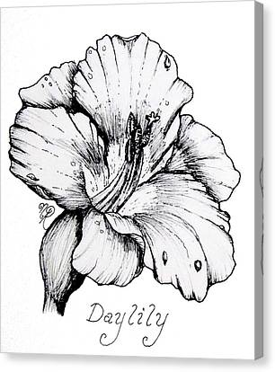 Luscious Daylily  Canvas Print
