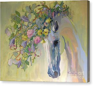 Lush Canvas Print by Kimberly Santini