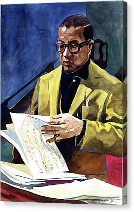 Lush Life Billy Strayhorn Canvas Print by David Lloyd Glover