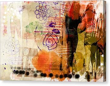 Luvgalz 0 Canvas Print by Piotr Storoniak