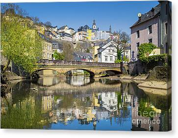 Luxembourg City Canvas Print by JR Photography