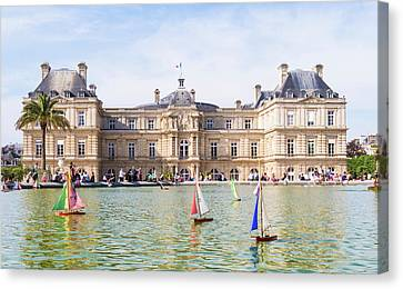 Luxembourg Sailing Canvas Print by Saint Cloud