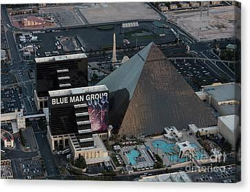 Luxor Hotel The Strip, Las Vegas Canvas Print by PhotoStock-Israel