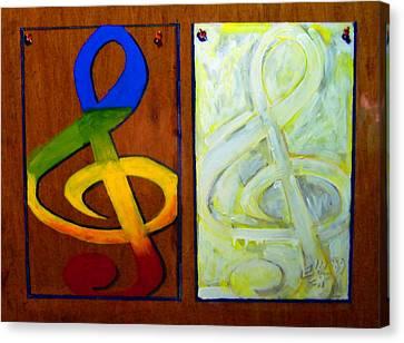 Luz Brillante Canvas Print by Elio Lopez