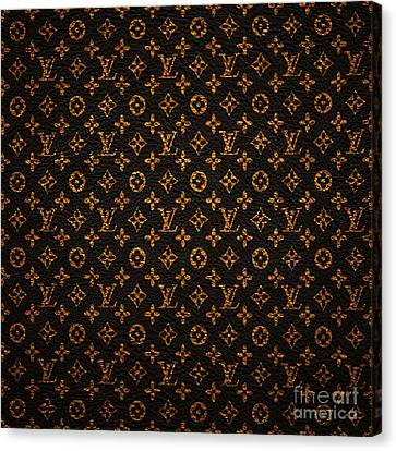 Lv Pattern Canvas Print by Janis Marika