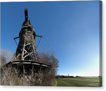 Lydinge Windmill Canvas Print