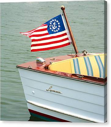 Lyman Runabout Canvas Print by Charles Harden
