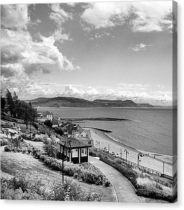 Landscapes Canvas Print - Lyme Regis And Lyme Bay, Dorset by John Edwards