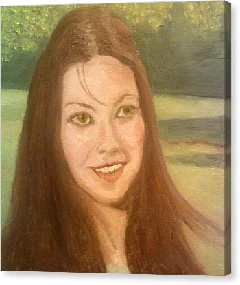 Lynne Frederick  Canvas Print