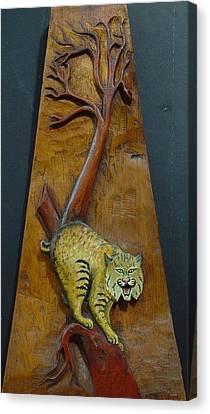 Lynx Canvas Print by Ron Sylvia