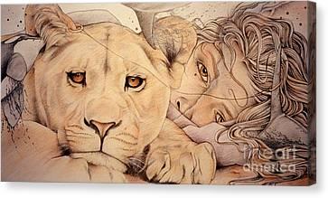 Lyonesse Canvas Print by Johanna Pieterman