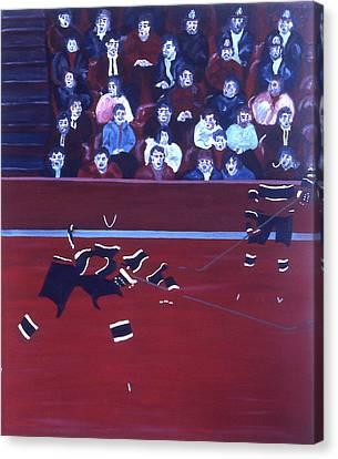 M C Canvas Print by Ken Yackel