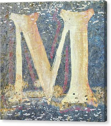 Impressionist Canvas Print - M Is For Monet by Carol Leigh