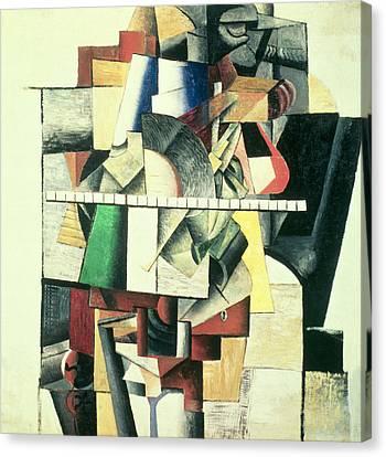 M Matuischin Canvas Print by Kazimir Severinovich Malevich