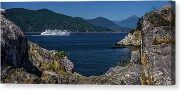 M/v Queen Of Cowichan Canvas Print