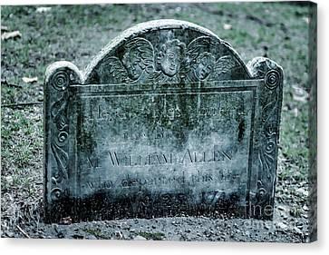 M. William Allen Canvas Print
