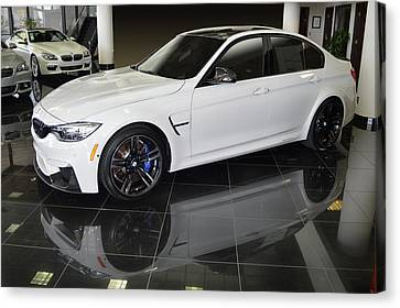 M3 On The Floor Canvas Print by Bill Dutting