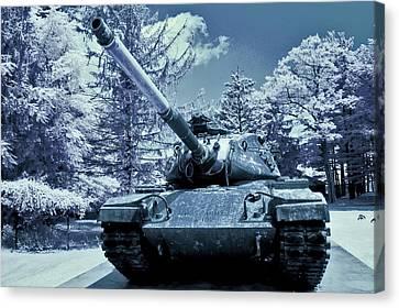 M60 Tank Us Army Canvas Print by Dimitri Meimaris