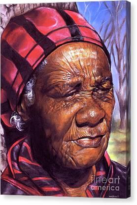 Ma Dea Canvas Print by Curtis James
