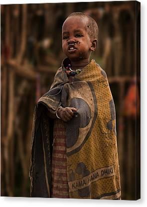 Maasai Boy Canvas Print