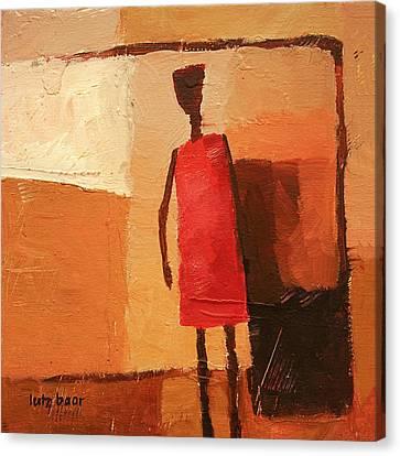 Maasai Canvas Print by Lutz Baar