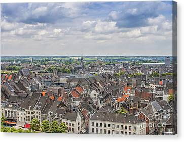 Maastricht In The Netherlands Canvas Print by Patricia Hofmeester