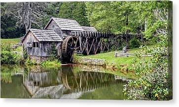 Mabry Mill Canvas Print by Bill Morgenstern