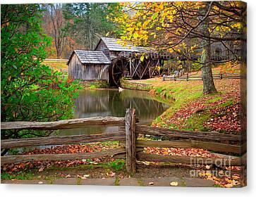 Old Mills Canvas Print - Mabry Mill by Emmanuel Panagiotakis